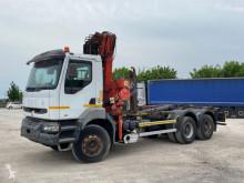 Kamion Renault Kerax RENAULT 330 SCARRABILE BALESTRATO ANTERIORE vícečetná korba použitý
