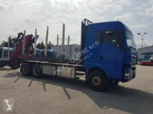 Caminhões MAN TGA 33.480, 6x4, RETARDER, CRANE/KRAN+KRONE AZ usado