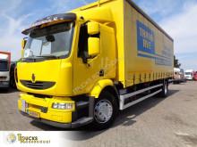 Lastbil skjutbara ridåer (flexibla skjutbara sidoväggar) Renault Midlum 270
