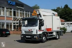 Teherautó Iveco Eurocargo 150e 22/EEV/EL232CBA/23m/2 Pers/AHK használt emelőkosár