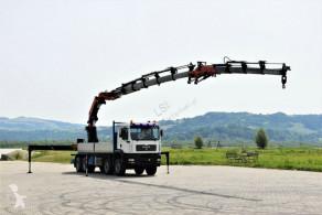 Ciężarówka platforma MAN TGA 41.460 + PK72002 + JIB + FUNK / 8x4