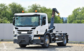 Camion Scania P 250 Abrollkipper 3,80m *4x2* Top Zustand ! multibenne occasion