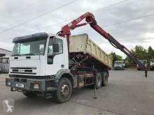Vrachtwagen Iveco Eurotrakker Cursor 350 tweedehands tweezijdige kipper
