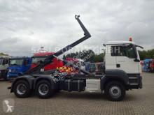 Lastbil polyvagn MAN TGS TGS 26.480 Abroller MEILLER 6x4