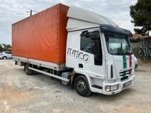 Lastbil Iveco Eurocargo 75E18 flexibla skjutbara sidoväggar begagnad