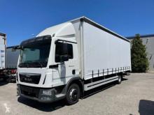 Camión MAN TGL 12.220 tautliner (lonas correderas) usado