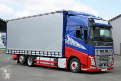 Camion savoyarde Volvo FH 460 6X2 Jumbo Schiebeplane Edscha Hubdach ACC
