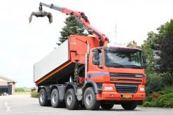 Камион самосвал самосвал с двустранно разтоварване DAF /ginaf X4243 !!8x4!!Z-kraan/kipper!!TOP!!MA