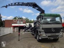 Tractora semi caja abierta Mercedes Actros 4141 8x4 HIAB Kran 477 HIPRO 6+5 mit JIB ca.26 M