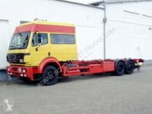 Ciężarówka Mercedes SK 2531L 6x2 2531 L 6x2, LBW, Möbelwagen BDF do transportu kontenerów używana