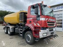 Camión limpia fosas Iveco Trakker AD260T36W 6x6 Wasserwagen Hochdruckpumpe