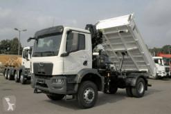 Ciężarówka wywrotka MAN TGM TGM 18.320 4x4 Euro6d Hiab X-HiDuo 118BS-2