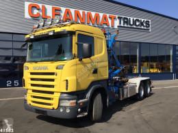 Camión Gancho portacontenedor Scania R 480