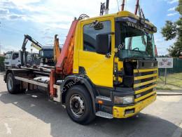 Scania hook lift truck P