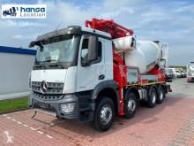 Lastbil Mercedes Arocs 4143 betong blandare + pump ny