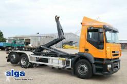 Lastbil flerecontainere Iveco Stralis AD260S42Y/PS 6x2, Palfinger T20A, Lenk-Lift
