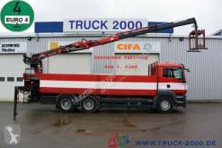 Camión MAN TGS TGS 26.400 6x4 Atlas Terex TLC 165.2 11 m=1.5 to caja abierta teleros usado
