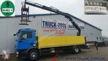 Camion plateau ridelles MAN TGM TGM 18.290 Hiab XS 122 Fernbedienung 1.Hand AHK