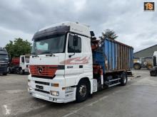 Lastbil containertransport Mercedes Actros
