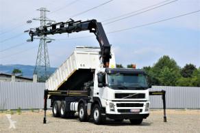 Camion Volvo FM 480 Kipper5,60m+HIAB 322E - 6HIPRO/FUNK *8x4 plateau occasion