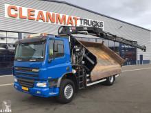 Camião Ginaf X 2221 L Hiab 12 ton/meter laadkraan Manual bi-basculante usado