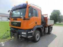 Камион MAN TGM MAN TGM 18340 4x4 Allrad, Funk Hiab-Kran 111 HI DUO самосвал самосвал с тристранно разтоварване втора употреба