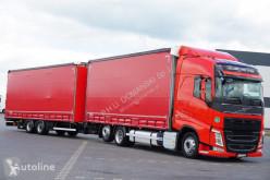 Ciężarówka Volvo FH / 460 / ACC / EURO 6 / ZESTAW PRZEJAZDOWY 120 M3 + remorque rideaux coulissants firanka używana