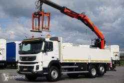 Camión Palfinger VOLVO FMX / 370 / EEV / SKRZYNIOWY + HDS / PK 18001L / CHWY caja abierta usado