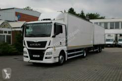Camion fourgon MAN TGX 18.440 E6/Koffer/kompletter Zug/Liege/Navi