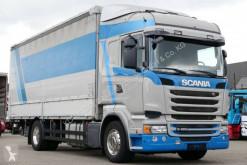 Lastbil flexibla skjutbara sidoväggar Scania R 450