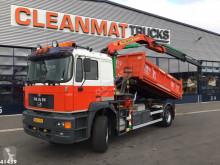 Camión volquete MAN 21.343 Palfinger 11 ton/meter laadkraan
