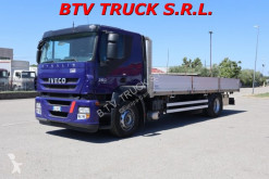 Camión Iveco Stralis STRALIS 360 CASSONE FISSO INOX EURO 5 caja abierta teleros usado