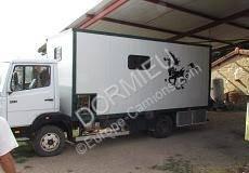 Mercedes 814 gebrauchter Pferdetransporter
