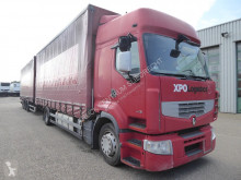 Ciężarówka firanka Renault Preimium 460 EEV,No papers,keine Documenten. Hebedach