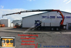Camion MAN F2000 F2000 33.373 6x4 PK35000D + Jib 22.70 m = 765 kg plateau ridelles occasion