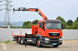 Camion MAN TGS 26.360 *PK 12000 + FUNK* TOPZUSTAND ! plateau occasion