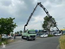 Caminhões Mercedes Actros 3358 Baustoffwagen Hiab 422-E-5 Jib Kran estrado / caixa aberta usado
