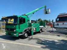 Camión Mercedes Atego Atego 1024 arbeitsbühne, 14mtr / Euro 5 plataforma elevadora usado