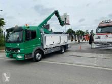 Camion piattaforma aerea articolata telescopica Mercedes Atego Atego 818 arbeitsbühne, 12mtr / Euro 4