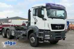 MAN hook lift truck TGS 33.480 TGS BB 6x4, Meiller RK20.65, Schalter