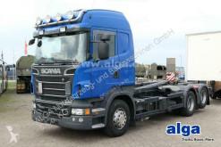 Camión Scania R R500 LB 6x2, V8-Motor, Meiller RK20.65, Retarder Gancho portacontenedor usado