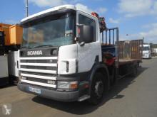 Camión portamáquinas Scania 94 260