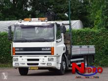 Camion plateau DAF 65 ATI 65 210 ATI CRANE HIAB 102 MANUEL