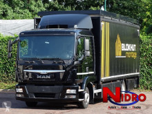 MAN TGL 12.180 truck used tautliner