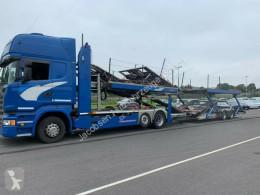 Camión Scania R450*Euro6*Retarder*MetagoProS portacoches usado