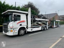 Camion Scania P410*Euro6*Retarder*MetagoPro bis 10 Fahrzeuge bisarca usato
