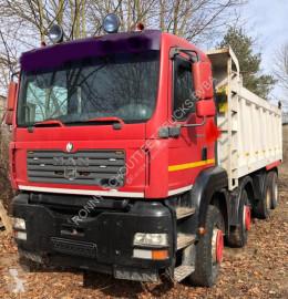 Camión MAN TGA 41.480 8x4 SHD/Klima volquete usado