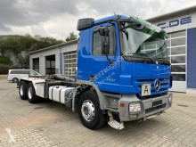 Camion Mercedes Actros 2641 6x4 BL Euro 5 Abrollkipper HYVALIFT polybenne occasion