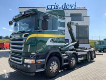 Камион мултилифт с кука Scania R R440 8x2 Trösch Hakengerät | Retarder | Tridem