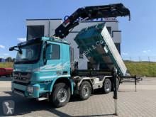 Caminhões Mercedes 4165 8x4 Hiab 377 E-7 | 3-seitenkipper Wechselsy basculante tri-basculante usado